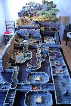 Tagged with gaming, dnd, homebrew, tabletop games, dungeons and dragons; Another round of D&D! Dark Fantasy, Fantasy Map, Dungeons And Dragons Miniatures, D&d Dungeons And Dragons, Tabletop Rpg, Tabletop Games, Dnd Table, Rpg Map, Dragon Miniatures