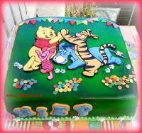 Winnie de Pooh cake