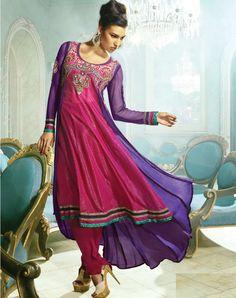 Rani Pink Salwar Kameez