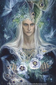 Irmo Lorien by EKukanova.deviantart.com on @DeviantArt omg I love the moths!!!!