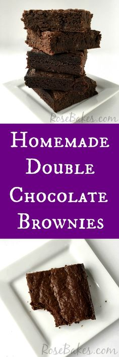 Homemade Double Choc
