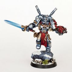 Tale of Painters: Tutorial: How to paint Grey Knights