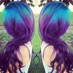 Purple hair streaks on pinterest hair streaks pink hair for A davis brown salon