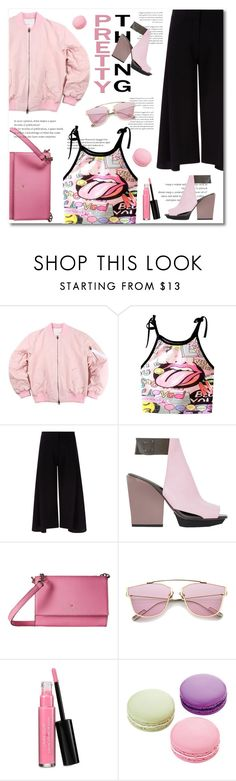 """cool me down"" by limass ❤ liked on Polyvore featuring Victoria, Victoria Beckham, 3.1 Phillip Lim, Kate Spade, Laura Geller and Ladurée"