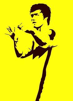 Fm10 Round-Necked Sweatshirt Unisex Bruce Lee Martial Arts Kung Fu Cinema Film