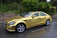 Ein goldiger Mercedes kommt selten allein! Mercedes Cannes!