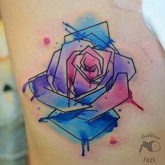 tattoo #tattoos #colortattoo #watercolor...