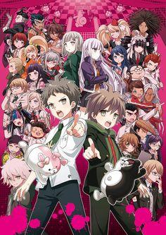 Hot Japan Anime Dangan Ronpa Danganronpa Wall Scroll Home Decor Poster A Monokuma Danganronpa, Super Danganronpa, Danganronpa Memes, Nagito Komaeda, Danganronpa Characters, I Love Anime, All Anime, Anime Art, Creepy