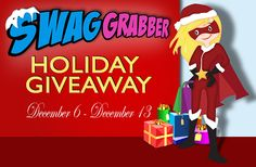 Check out SwagGrabber for some awesome holiday prizes!!