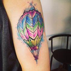 Tatuagem aquarela: mais de 70 opções lindas para inspirar