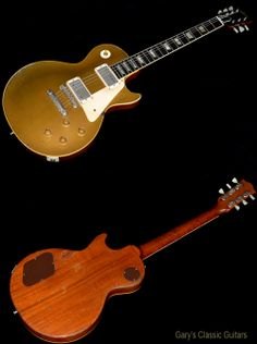 1957 Gibson Les Paul PAF Goldtop, Two screaming PAF's, Nice fat neck!