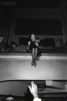 * Loulou de la Falaise attends the opening night party at Le Palace, the dance-hall discotheque opened by owner Fabrice Emaer on the Rue du Faubourg Montmartre 3 mars 1978 © Guy Marineau