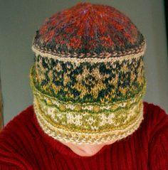 Ravelry: Merike's Kihnu Troi Hat #4