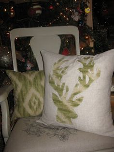 Woven Home: Christmas Pillows