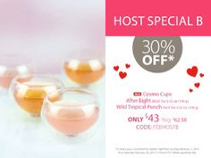 Steeped tea. February host special