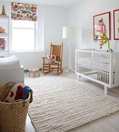 Purple and grey nursery ideas. modern nursery wallpaper girl 5 bold black w Nursery Wallpaper, Nursery Rugs, Nursery Decor, Nursery Ideas, Room Ideas, Bedroom Rugs, Wallpaper Ideas, Cozy Bedroom, Girl Room