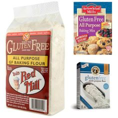 Gluten-Free Flour Substitutes: Which One Is Your Favorite?. ☀CQ #GF ...