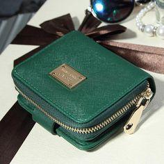 $4.98 (Buy here: https://alitems.com/g/1e8d114494ebda23ff8b16525dc3e8/?i=5&ulp=https%3A%2F%2Fwww.aliexpress.com%2Fitem%2FSplendid-New-Brands-Clutch-Bag-Women-Wallets-Green-Luxury-functional-Gift-for-female-Zipper-Short-Wallet%2F32779013658.html ) Splendid New Brands Clutch Bag Women Wallets Green Luxury functional Gift for female Zipper Short Wallet Handbag Purse for just $4.98