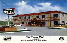A new modern motel right downtown with luxurious furnishings - wall to wall… Hotel Motel, Nevada, Westerns, Mid-century Modern, Mid Century, Entertaining, Mansions, The Originals, Luxury