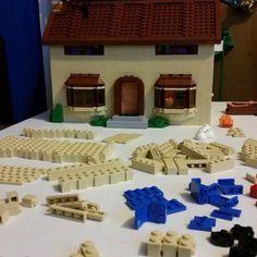 Almost done. #lego #simpsons #simpsonslego #bricks