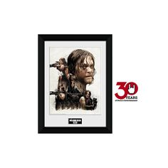 The Walking Dead - Daryl Dixon Collage    - Framed picture  - 30 x 40 cm collectible print  - 25 mm thick plastic frame  - Shatterproof plastic pane  - Exclusive to EMP!    Daryl Dixon shows you how to look good while you're hunting for zombies in this framed picture of The Walking Dead. The Daryl Dixon Collage is a masterpiece and features the brave hero posing with powerful weapons. Available exclusively at EMP.