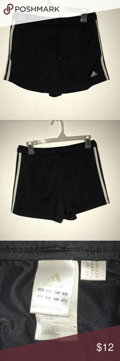 Adidas Shorts Adidas Women's Workout/gym shorts with pockets! In good used condition! Women's size Medium. adidas Shorts