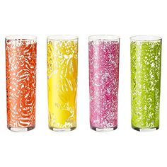 Target home dining & entertaining glassware & stemware cups & mugs Lilly Pulitzer for Target Drinking Glasses - Set of 4 Visit http://recipehen.com/target-home-dining-entertaining-glassware-stemware-cups-mugs-lilly-pulitzer-for-target-drinking-glasses-set-of-4/