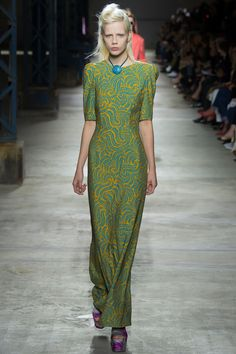 Swirls // Dries Van Noten Spring 2016 Ready-to-Wear #PFW