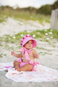 Hamptons Hot Pink Beaufort Bonnet
