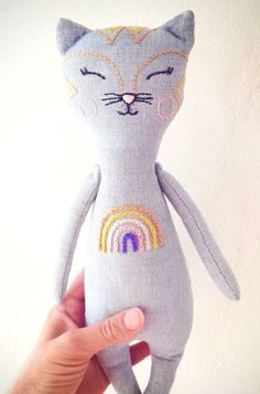 A Happy Little Holiday Gift Guide Holiday Gift Guide, Holiday Gifts, Etsy Handmade, Handmade Gifts, Holidays With Toddlers, Bohemian Girls, Cat Doll, Baby Prints, Hand Knitting
