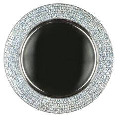 Hey, I found this really awesome Etsy listing at https://www.etsy.com/listing/263482704/charger-plate-12-mosaic-mirror-and-metal