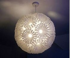 11 Ideias de Luminárias Recicladas e Fáceis de Fazer | Reciclagem no Meio Ambiente