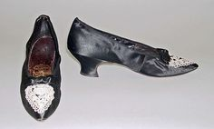 Hook, Knowles & Co. | Shoes | British | 1911 | Silk, Leather and Cotton | The Met