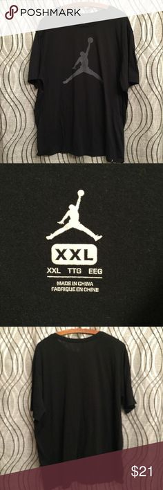 9bf46eb13b2 JUMPMAN LOGO T-SHIRT BLACK Air Michael Jordan XXL JORDAN JUMPMAN T-SHIRT -