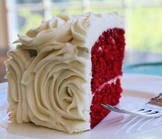 Fancy - Red Velvet Rose Cake blog.hairshoppingmall.com www.hairshoppingmall.com