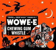 Wowe-e chewing gum whistle