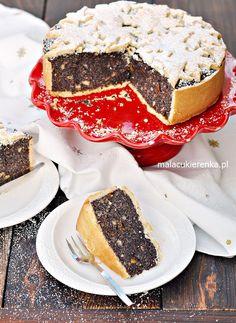 GWIAZDKOWY Makowiec na Kruchym Cieście Cookie Desserts, No Bake Desserts, Sweet Recipes, Cake Recipes, Good Food, Yummy Food, Polish Recipes, No Cook Meals, Food To Make
