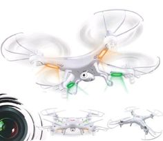 Syma X5C-1 Explorers 2.4Ghz 4CH 6-Axis Gyro RC Quadcopter Drone w/ HD Camera RTF ** Want additional info? Click on the image.
