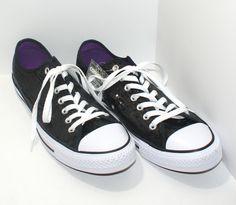 79b506fc259b New Converse Chuck Taylor All Star Black Sequin Sneakers 136079F Men 11  Women 13