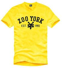 b62cd43e201 New Mens Zoo York Yellow Short Sleeve T-Shirt Size XL Zoo York Shirts