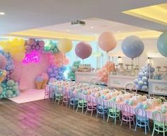New baby shower themes neutral decorations birthday parties ideas Unicorn Birthday Parties, Birthday Party Decorations, Girl Birthday, Pastel Party Decorations, Birthday Cake, Birthday Ideas, Idee Baby Shower, Baby Shower Themes, Shower Ideas