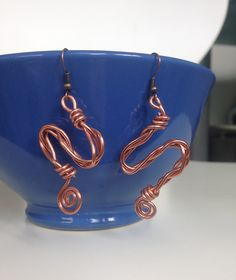 Ohrringe - DIY Ohrringe aus Schmuckdraht – rosegold…