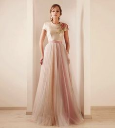 This is what I am talking about! A stylish AND cute modest dress. I LOVE the shoulder detail.
