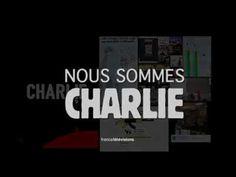 #CharlieHebdo : la vidéo hommage de France Télévisions #NousSommesCharlie - YouTube