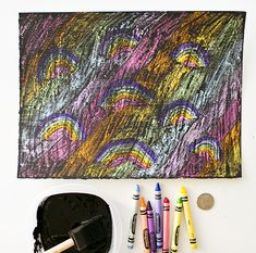hello, Wonderful - DIY RAINBOW SCRATCH ART FOR KIDS