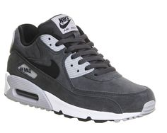 Anthracite Black Wolf Grey Nike Air Max 90 From Office Co Uk
