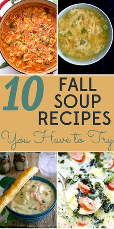It's finally fall! We've got 10 easy, healthy, and frugal fall soup recipes to welcome the cooler weather.