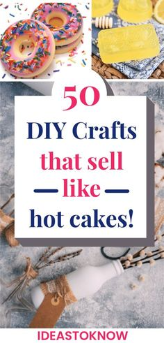 Easy Crafts To Sell, Money Making Crafts, Quick And Easy Crafts, Diy Crafts For Adults, Diy Projects To Sell, Sell Diy, Diy Arts And Crafts, Ideas To Make Money, Make To Sell