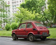 "A Polish classic, the PF 126p (Polski Fiat 126p). It was produced in Poland between 1973 and 2000.The Polski Fiat was exported to many Eastern Bloc countries and for several years was one of the most popular cars in Poland and Hungary. It had many nicknames. In Poland it was called Maluch (""small one"" or ""toddler""), mały Fiat (""small Fiat""), and Kaszlak (""cougher""), because its engine, when started, resembled a cough. http://en.wikipedia.org/wiki/Fiat_126"