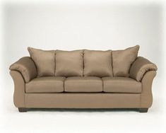 Darcy Mocha Sofa from Famous Brand >>> Details can be found by clicking on the image. (This is an affiliate link) #AshleySofaandCouches